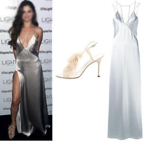 Charming Prom Dress, Sexy New Slit Simple Fashion Prom Dress, Evening Dress, Party Dresses, , PD0416 - SposaBridal