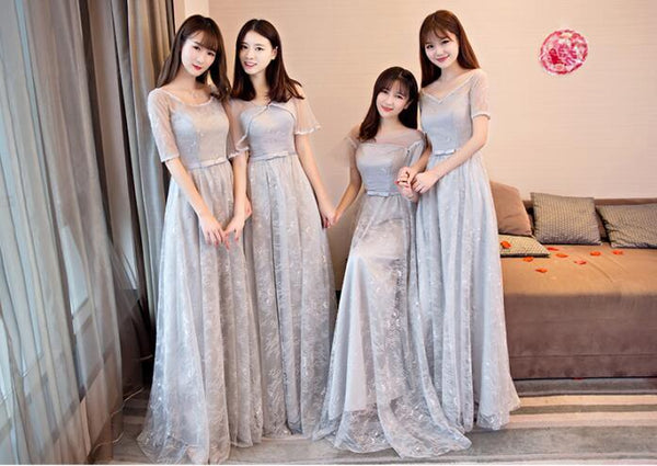 New Arrival Different Style Unique Cheap Custom Bridesmaid Dresses, wedding guest dress, PD0340