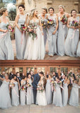 Chiffon Cheap Custom High Quality Bridesmaid Dresses, Mismatched Best Sales Bridesmaid Dress, PD0433