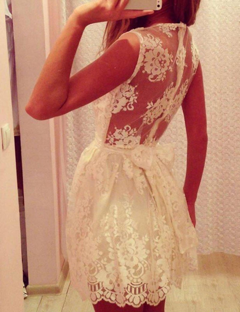 New Arrival lace simple elegant cute freshman graduation homecoming gown dresses, BD00169