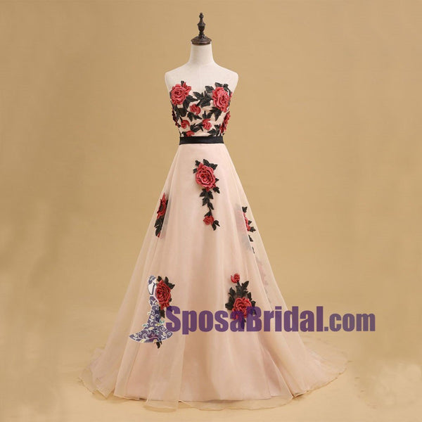 Charming A-Ling Beautiful Most Popular High Quality Real Made Prom Dresses, Fashion Formal Evening Dress, PD0706 - SposaBridal