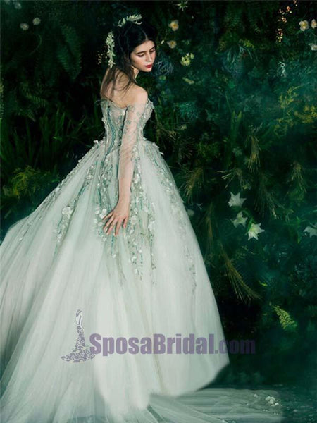 Green Fairy Beautiful Long Unique New Design Elegant Lace Up Back Charming  Prom Dresses, PD0629