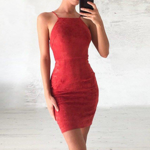 Cheap Lace Tight Red Short Tight Homecoming Dresses 2018, CM432 - SposaBridal