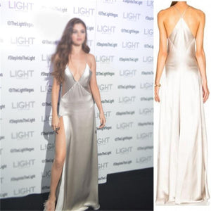 Charming Prom Dress, Sexy New Slit Simple Fashion Prom Dress, Evening Dress, Party Dresses, , PD0416