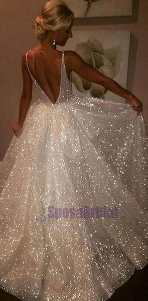 Sparkly New Unique Design Shining Stunning Charming Elegant Affordable Prom Dresses, Evening party dress, PD0611