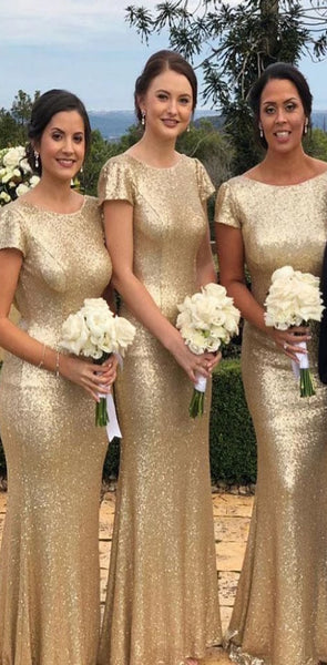 2020 Free Custom Sequin Sparkly Simple Most Popular High Quality Unique Bridesmaid Dresses, PD0536