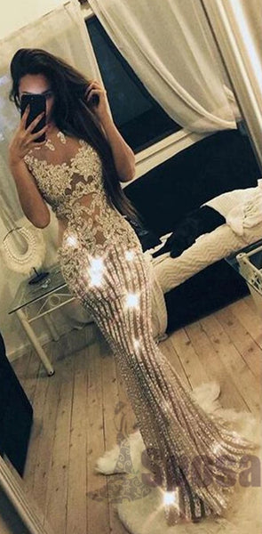 2020 Sparkly Beading Charming Fashion Stunning Gorgeous High Quality Prom Dresses, Evening dresses, PD0593