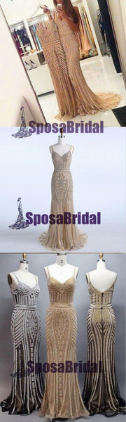 Charming Sparkly Shining Gorgeous Formal Elegant Unique Popular Prom Dresses, PD0493 - SposaBridal