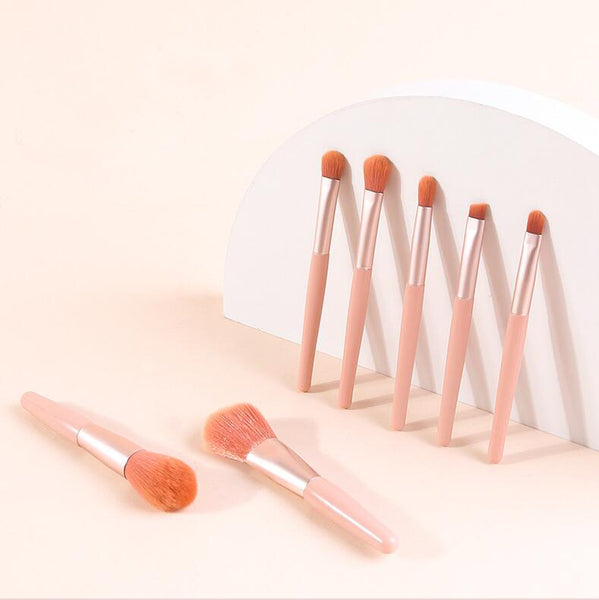 Online Unique Long Formal Blush Pink Chiffon Bridesmaid Dresses, WG03