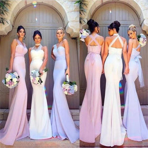 2018 Charming Simple Most Popular Elegant Mermaid New Unique Bridesmaid Dresses, PD0354