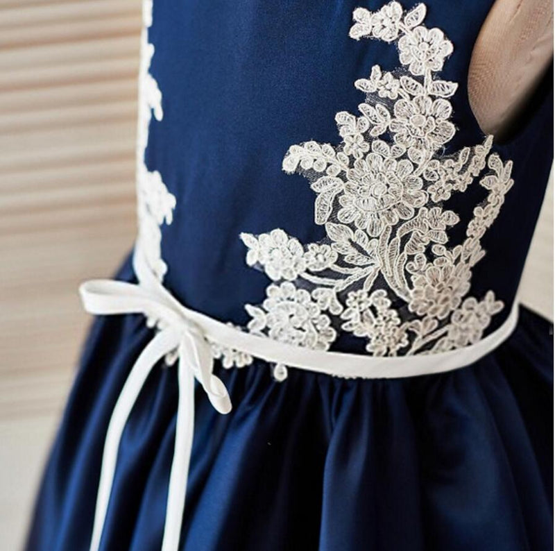 Newest Most Popular Handmade High Quality Cute Wedding Flower Girl Dresses, FG0091