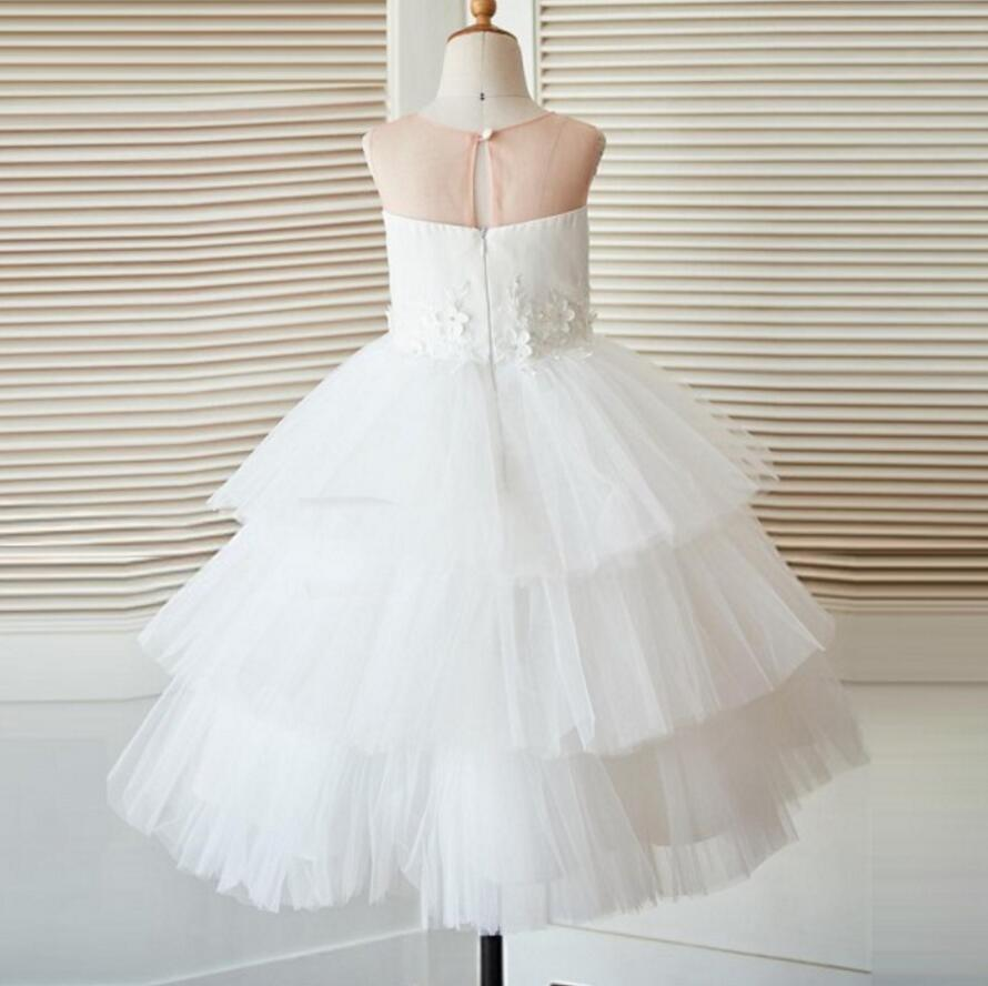 Unique New Design Baby Fashion Tulle Lovely Cutest Wedding Flower Girl Dresses, FG0095