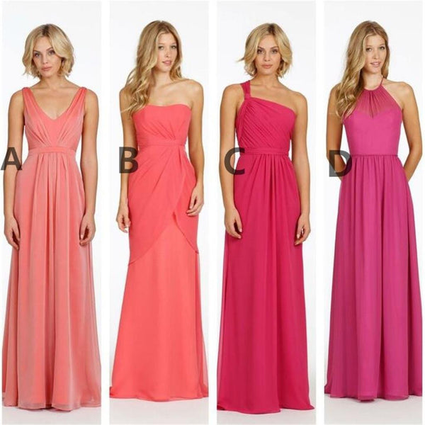 Cheap Different Style and Color Chiffon  New Arrival Bridesmaid Dresses , PD0281