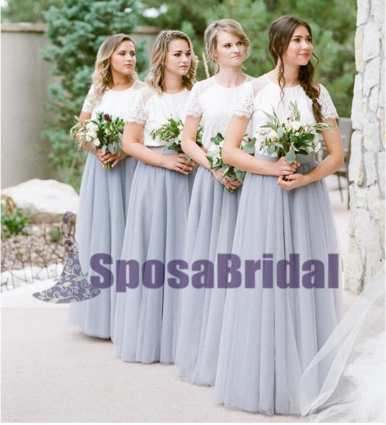 Charming Newest Most Popular Handmade Short Sleeves Pretty Comfortable Bridesmaid Dresses, PD0521 - SposaBridal