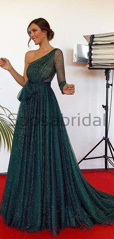 products/A-Line_Green_Sequin_Tulle_One_Shoulder_Modest_Sparkly_Long_Prom_Dresses_2.jpg