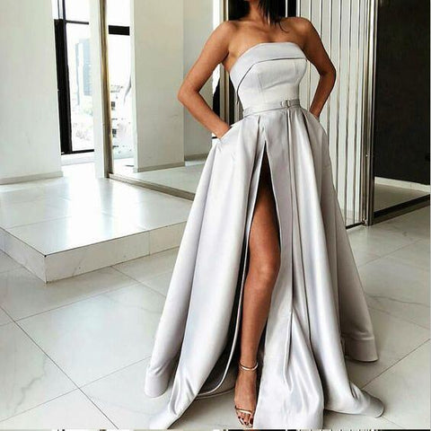 products/A-Line_Most_Popular_Off_Shoulder_Sweep_Train_Split_Front_Grey_Prom_Dresses_with_Belt_online_3.jpg