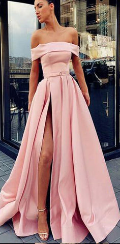products/A-Line_Off_Shoulder_Long_Cheap_Sweep_Train_Split_Front_Pink_Prom_Dresses_with_Belt_2.jpg