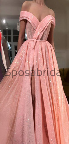 products/A-Line_Pink_Sparkly_Side_Slit_Off_the_Shoulder_Formal_Long_Prom_Dresses_2.jpg