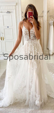 products/A-lineLaceSpaghettiStrapsVintageElegantWeddingDresses_ModestPromDresses_2.jpg