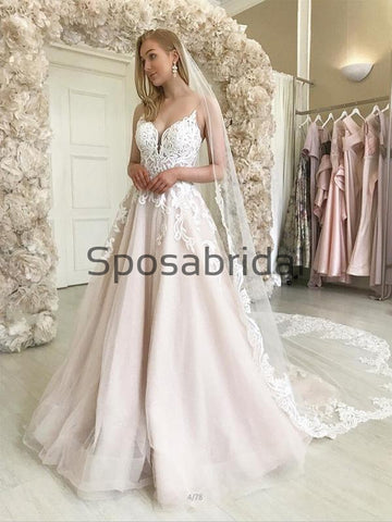 products/A-lineLaceStrapsVintageSatinCountryDreamWeddingDresses_1.jpg