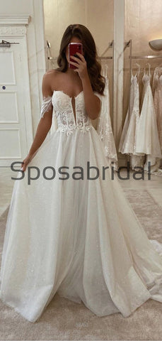 products/A-lineLaceVintageSparklyOfftheshoulderWeddingDresses_ModestPromDresses_1.jpg