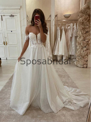 products/A-lineLaceVintageSparklyOfftheshoulderWeddingDresses_ModestPromDresses_2.jpg