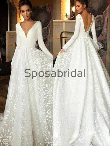 products/A-lineLongSleevesV-NeckLaceVintageBeachWeddingDresses_1.jpg