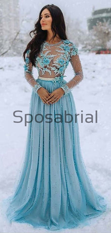 products/A-lineLong_Sleeves_Top_See-through_Tulle_Appliques_Prom_Dresses_Wedding_Dresses_3.jpg