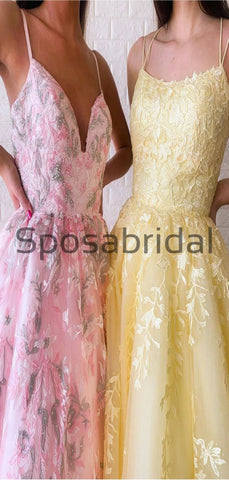 products/A-lineStrapsYellowPinkLaceModestFormalLongPromDresses_4.jpg