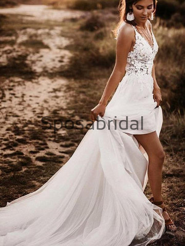 products/A-lineV-NeckLaceBeachLongModestWeddingDresses_1.jpg