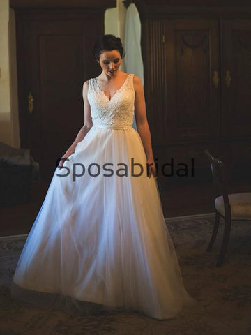 products/A-lineV-NeckTulleChicModestLaceBeachWeddingDresses_1.jpg