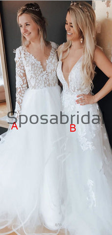 products/A-lineV-NeckWhiteCountryPopularModestWeddingDresses_1.jpg