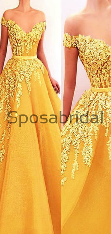 products/A-lineYellowAppliquesOfftheShoulderElegantPromDresses_1.jpg