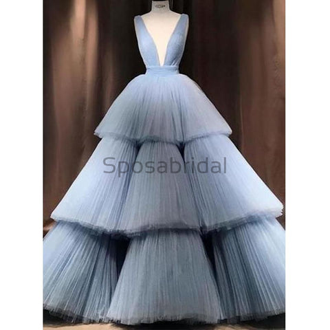 products/A-line_Blue_Tulle_Deep_V-Neck_Unique_Modest_Gorgeous_Long_Prom_Dresses_Ball_gown_1.jpg