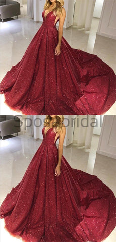 products/A-line_Gorgeous_Burgundy_V-neck_Sequin_Sparkly_Modest_Long_Prom_Dresses_Ball_gown_1.jpg
