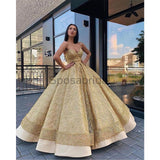 A-line Gorgeous Elegant Popular Custom Long Fashion Prom Dresses, Ball gown PD1522