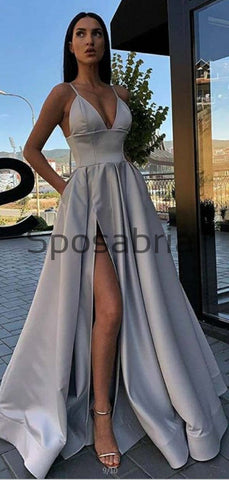 products/A-line_Satin_Gray_Side_Slit_Simple_Cheap_Vintage_Party_Prom_Dresses_2.jpg
