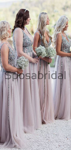 products/A-line_Sequin_Tulle_V-Neck_Modest_Elegant_Bridesmaid_Dresses_1.jpg