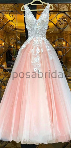 products/A-line_Tulle_Pink_Custom_Long_V-Neck_High_Quality_Fashion_Prom_Dresses_Party_Gowns_2.jpg