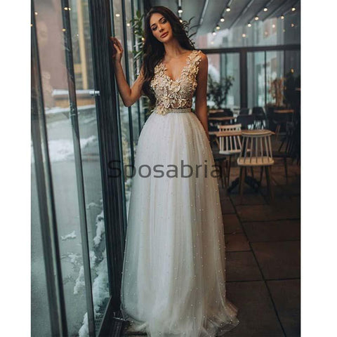 products/A-line_V-Neck_Bead_Appliques_Pretty_Prom_Dresses_Wedding_Dresses_1.jpg