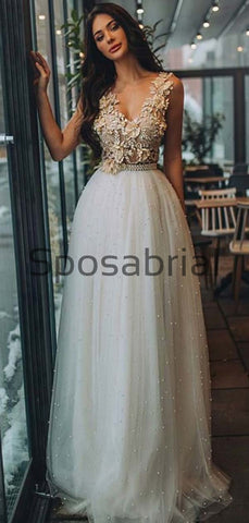 products/A-line_V-Neck_Bead_Appliques_Pretty_Prom_Dresses_Wedding_Dresses_2.jpg