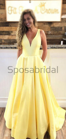 products/A-line_Yellow_V-Neck_Simple_Satin_Modest_Popular_Long_Prom_Dresses_2.jpg