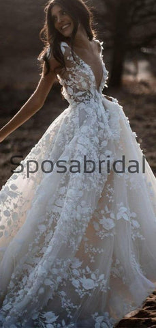 products/ALineIvoryVNeckCountryWeddingDresseswithAppliques_BeachWedding_2.jpg