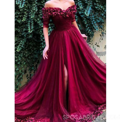 products/A_Line_Off_The_Shoulder_Burgundy_Tulle_Prom_Dresses_With_Appliques_Split_Evening_Dress.jpg