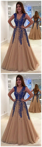 products/A_Line_V_Neck_Modest_Elegant_Hot_Champagne_Tulle_Long_Appliques_Beading_Prom_Dresses_3.jpg
