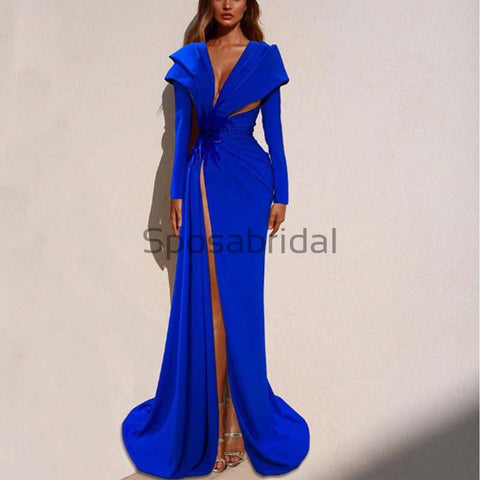 products/Affordable_Blue_Elegant_Long_Sleeves_Side_Slit_Mermaid_Formal_Prom_Dresses_1.jpg