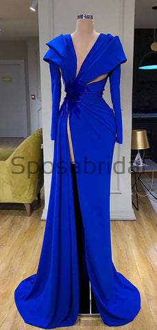 products/Affordable_Blue_Elegant_Long_Sleeves_Side_Slit_Mermaid_Formal_Prom_Dresses.jpg