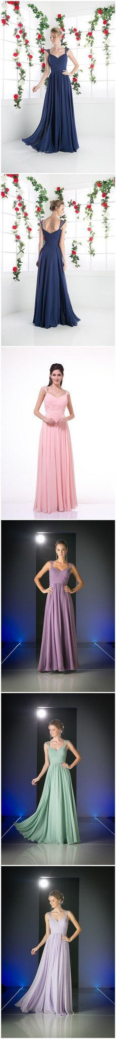 Chiffon Cheap Simple Cocktail Evening Long Prom Dresses Cheap Bridesmaid Dresses , PD0156