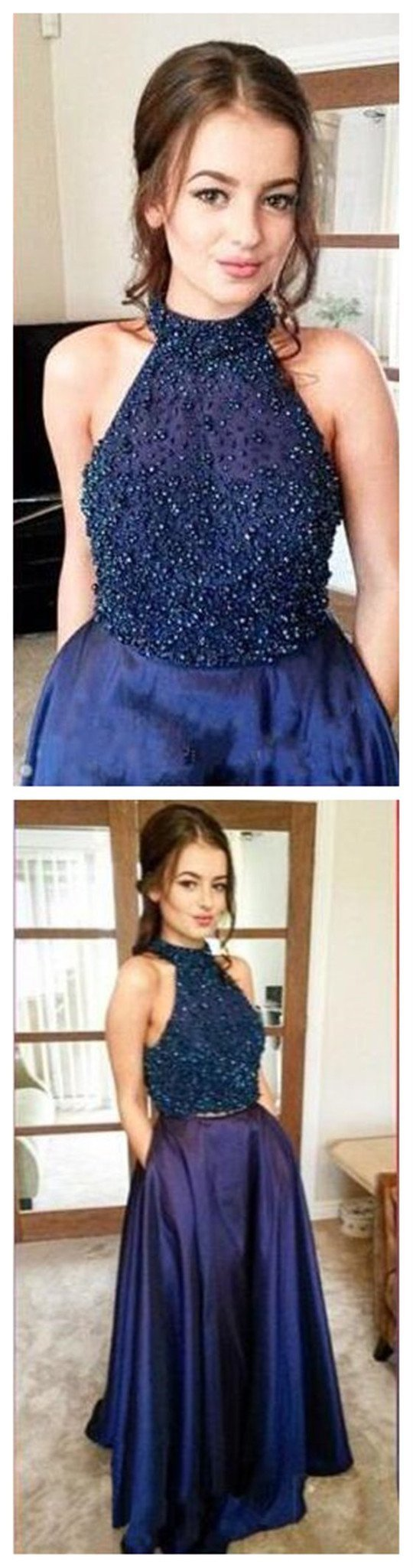 Long Sparkle Party Prom Cheap Custom Discount Sleeveless Evening Prom Dresses Online,PD0094