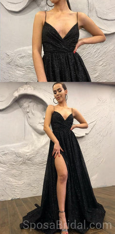 products/Black_Chamring_Spaghetti_Strap_Side_Slit_Sparkly_Sequin_Modest_Cheap_Elegant_Formal_Long_Prom_Dresses_2.jpg